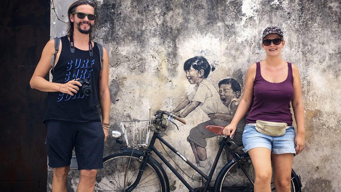 George Town – Street Art und fantastisches Essen