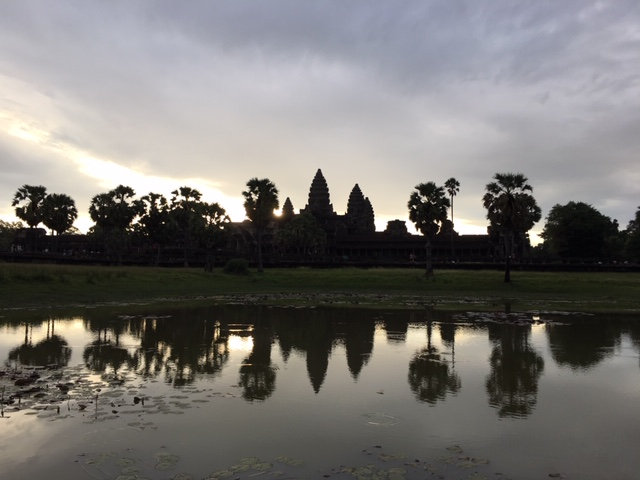 Die Tempel von Angkor Wat und Siem Reap